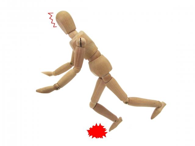 膝折れ,原因,対処法