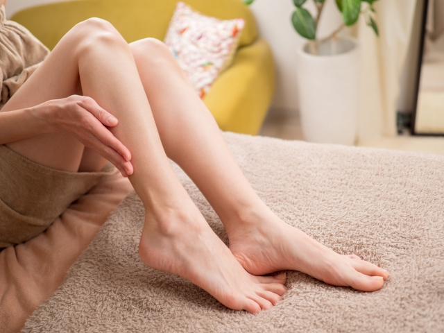 膝の痛み,朝